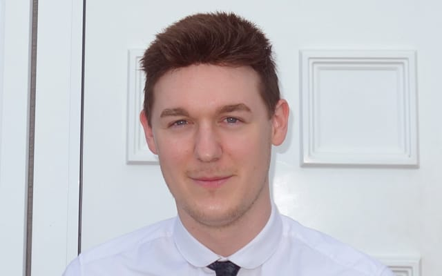 The face of property cover Alex Hancock, Associated Insurance Services